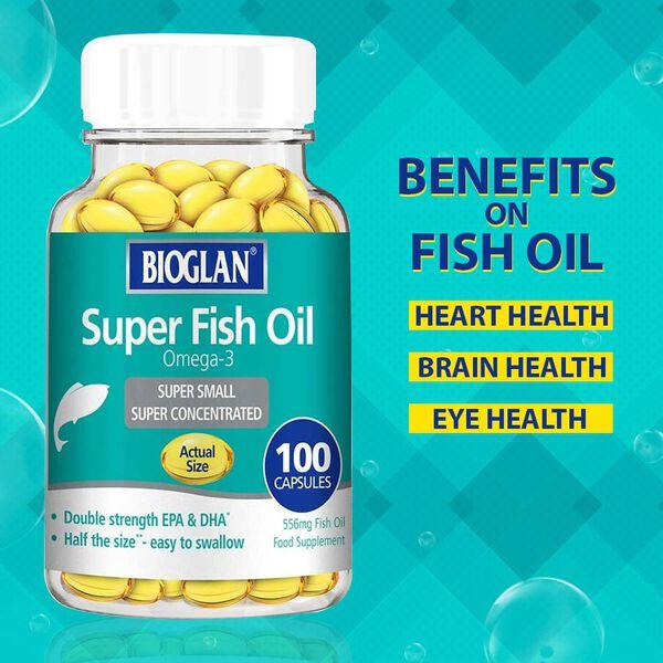 Bioglan: Super Fish Oil 100s capsules