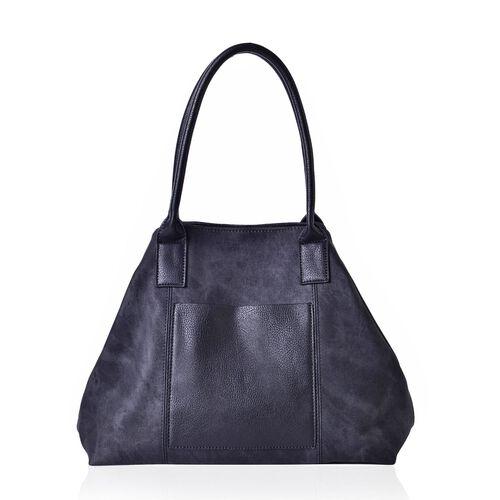 Black Colour Weekend Handbag  (Size 52x36x29x16 Cm)