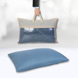 Serenity Night - 100% Cotton Pillow Case (75x50cm) - Teal