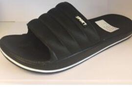 Thomas Calvi Comfortable Summer Sliders in Black