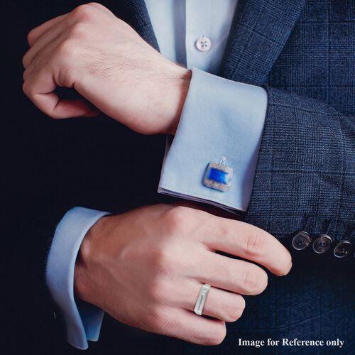 Diamond Signet Ring in Sterling Silver