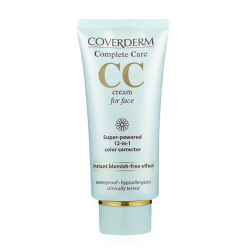 Coverderm: Complete Care CC Face Cream (Light Beige) - 40ml