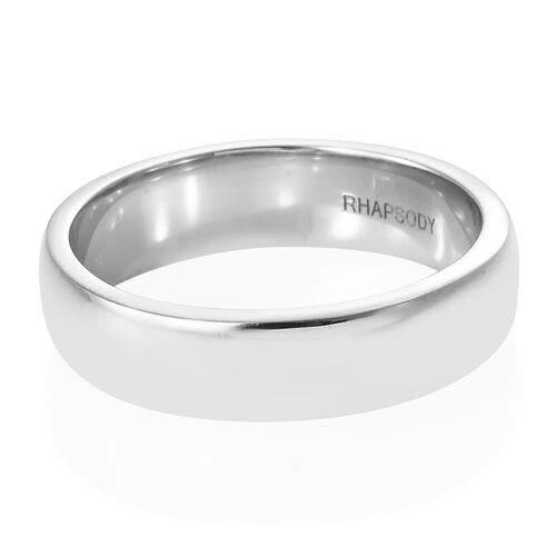 RHAPSODY 950 Platinum 5mm Platinum Wedding Band Ring, Platinum wt 7.06 Gms.