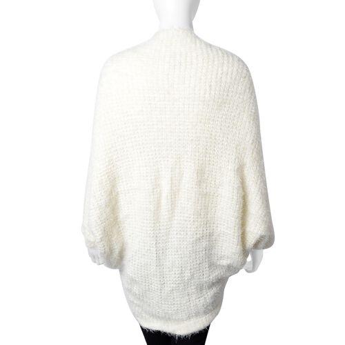 White Colour Kimono (Size 105x50 Cm)