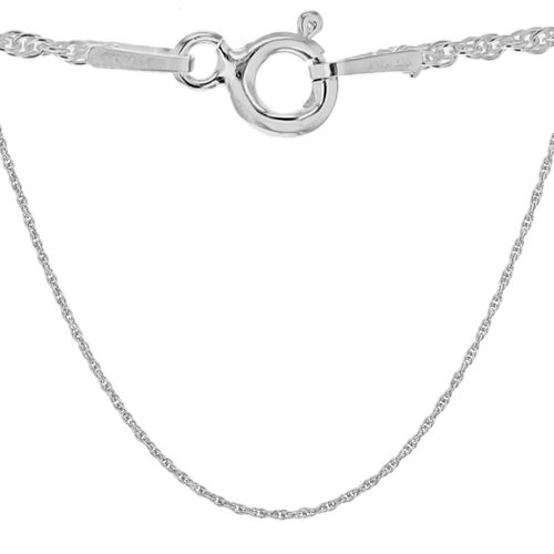Sterling Silver Prince of Wales Chain (Size 24)