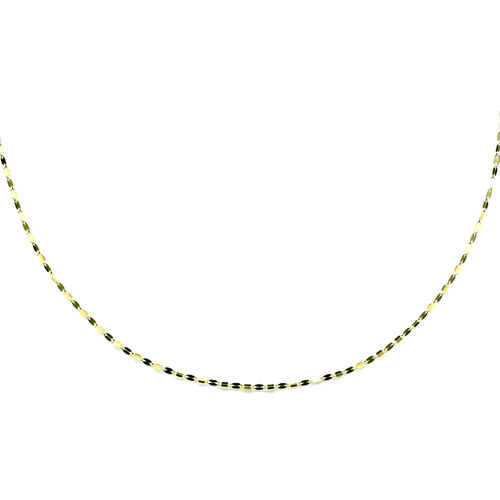 Vicenza Collection Chain Necklace in 9K Gold 18 Inch