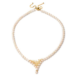 Japanese Akoya Pearl  Necklace (Size - 20)  Sterling Silver 153.00 ct  153.000  Ct.