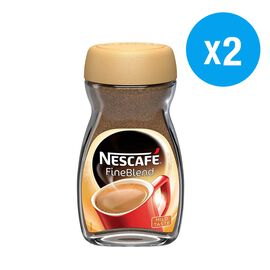 Nescafe: Instant Fine Blend Coffee - 100g (Pack of 2)