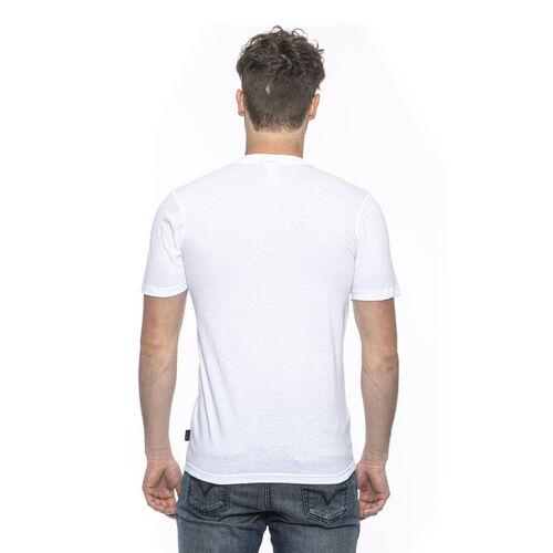 OTO - 19V69 ITALIA Short Sleeve Crew Neck Logo T Shirt (Size M) - Bianco/White