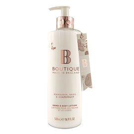 Boutique: Mandarin, Basil & Grapefruit Hand & Body Lotion - 500ml