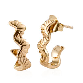 14K Gold Overlay Sterling Silver Earrings (with Push Back)