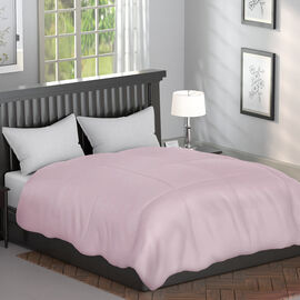 Serenity Night - Mulberry Silk Duvet with Square Quilting (Size Double 200x200cm)- Caffe Latte Colou