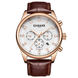 GAMAGES OF LONDON Limited Edition Hand Assembled Enigmatic Automatic Rose