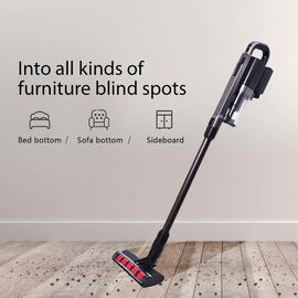 Cordless Vacuum Cleaner with 2 Speed (Size 115x24x18cm) - Black and Grey
