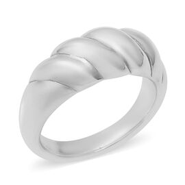 Band Ring in Sterling Silver 3.96 Grams