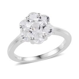 Petalite (Rnd) Ring in Sterling Silver 1.00 Ct.