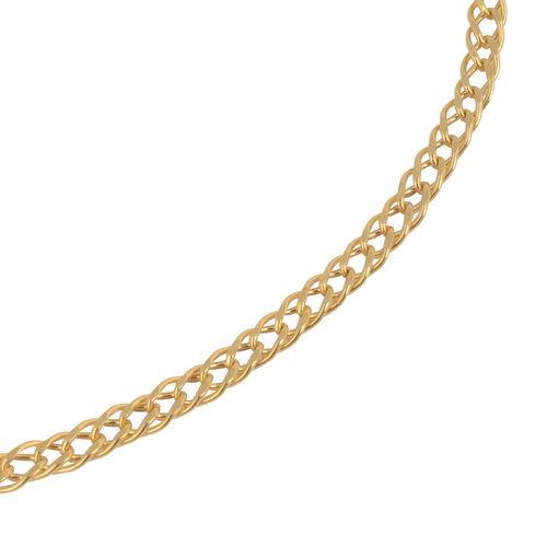 Italian Made- 9K Yellow Gold Bracelet (Size 8.25)