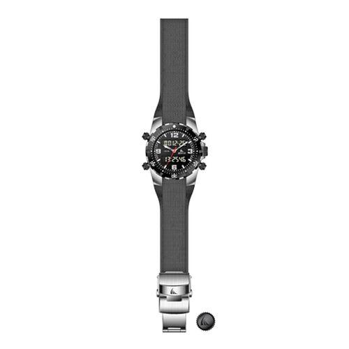 ZTSport DiveKing Black - Illuminating 330FT Pressure Sealed Case, Silicone Strap Ana-Digi Sports Wat