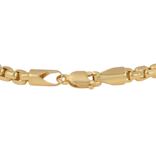 9K Yellow Gold Bracelet (Size 8.5), Gold wt 5.38 Gms