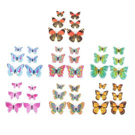 42 Pcs Set - Multi Colour Magnet 3D Butterflies