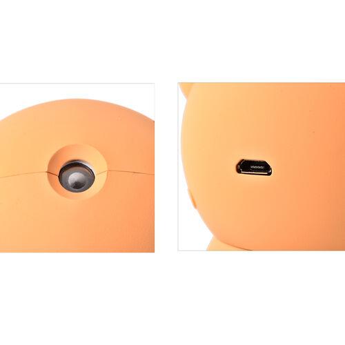 Damo Bear Humidifier in Orange