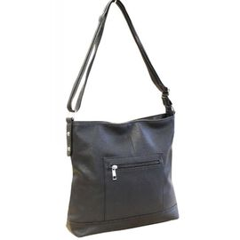 New Season - Super Soft Large Tote Handbag With Adjustable Strap (31 x 28 x 7 Cms) - Black