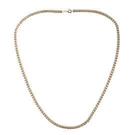 Royal Bali Collection- 9K Yellow Gold Diamond Cut Necklace (Size 20), Gold wt 21.52 Gms