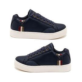 19V69 ITALIA Mens Sneaker Shoes - Navy
