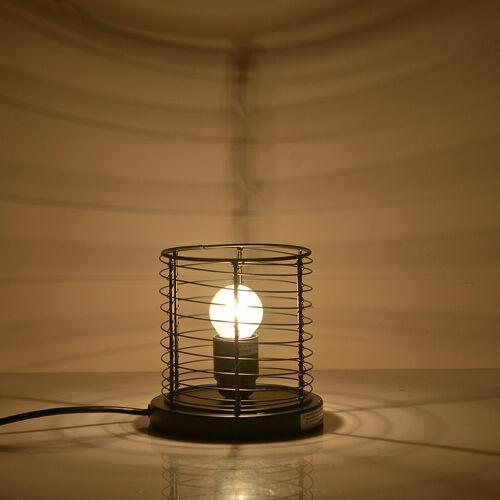 Natural Pink Himalayan Rock Salt Basket Lamp - With 1.6KG Salt Bag -  Cylindrical