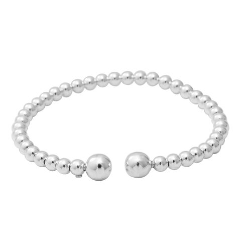 Adjustable Bangle in Sterling Silver 16.86 Grams 7.25 Inch