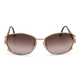 CHRISTIAN DIOR Vintage Style Sunglasses -Rose