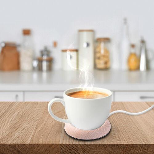 Smart Mug Warmer in Light Brown (Max Temp. - 80 Degrees)