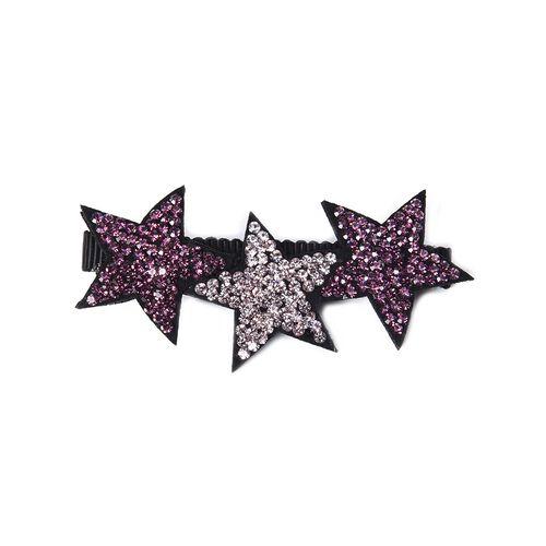 Lovely Star Duckbill Hair Clip - Light and Dark Purple