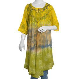 Yellow Colour Umbrella Dress (Size 110x65 Cm)