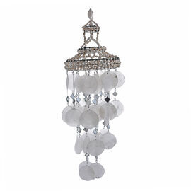 Bali Collection - White Seashell Decorative Wind Chime (Size 50x15 Cm)