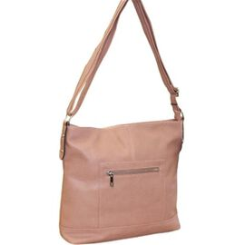 New Season - Super Soft LargeTote Handbag With Adjustable Strap (31 x 28 x 7 Cms) - Rose Pink