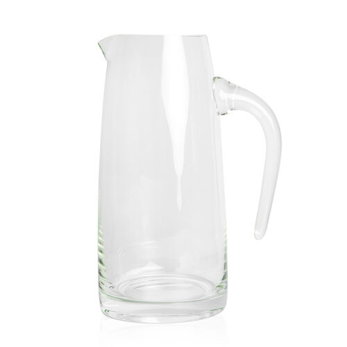 Pitcher in Light Green Coloured Glass, 1.5 Liter Capacity