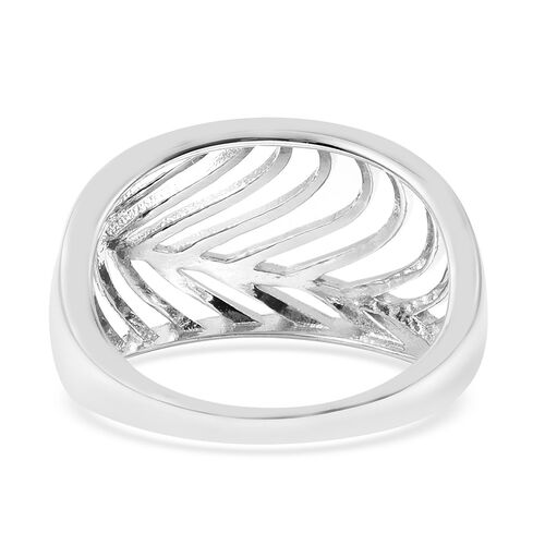 Isabella Liu Sea Rhyme Collection - Rhodium Overlay Sterling Silver Ring