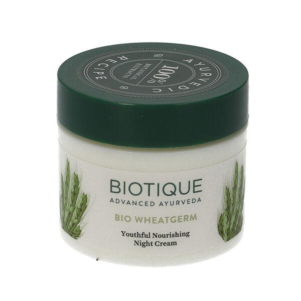 Biotique: Bio Wheatgerm Youthful Nourishing Night Cream - 50g