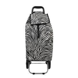 Zebra shopping trolley