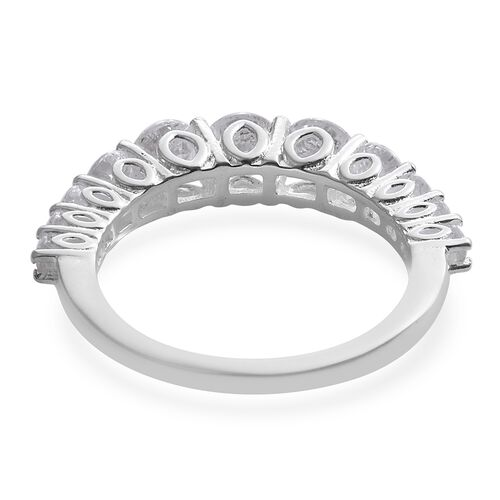 J Francis - Sterling Silver (Rnd) Ring Made with SWAROVSKI ZIRCONIA 2.500 Ct.