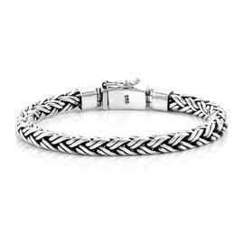 Royal Bali Chain Bracelet in Silver 46.50 Grams 7 Inch