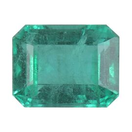 AA Emerald Octagon 8.03x5.92x4.12 Faceted 1.33 Cts