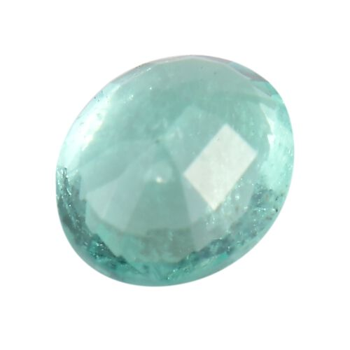 Colombian Emerald Oval 6x5 Faceted 1A 0.47 Cts