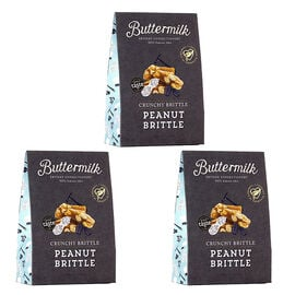Buttermilk 3 x 150g Peanut Brittle