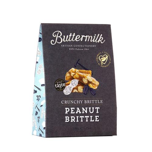 Buttermilk 3 x 150g Peanut Brittle Sharing Box