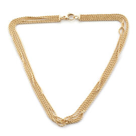 Limited Edition- Royal Bali Collection 9K Yellow Gold Rope Necklace (Size 20), Gold wt 13.62 Gms.