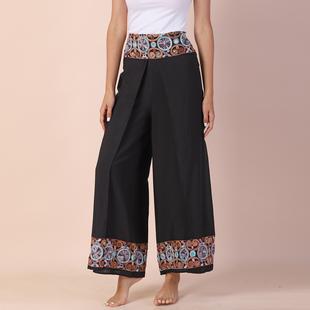 Value Buy - LA MAREY Embroidery Pattern Women Trousers