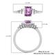 WEB EXCLUSIVE - RHAPSODY 950 Platinum AAAA Pink Sapphire and Diamond (VS/E-F) Ring 1.07 Ct.