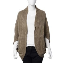 New For Season- Brown Colour Scarf or Kimono (Size 103x36 Cm)
